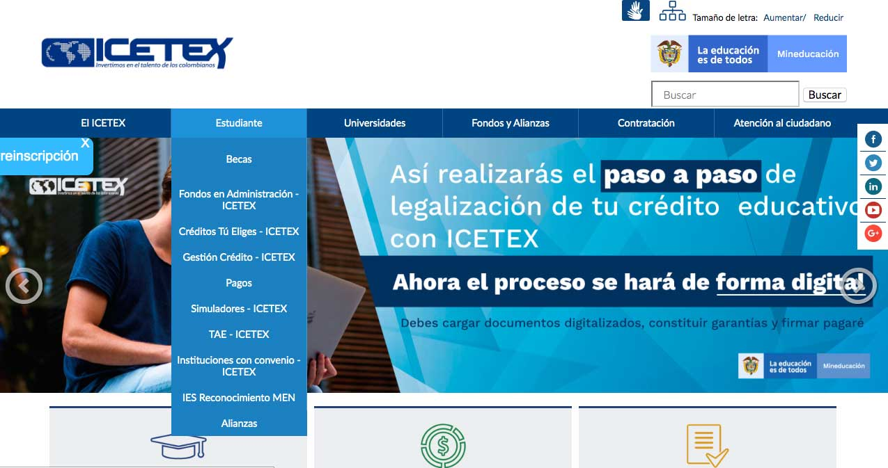 Pagos ICETEX